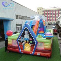 Производитель пользовательские размеры прыжком дом возврата слайд надувной замок Bouncer перемычки для детей