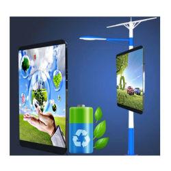 P4 для использования вне помещений алюминиевый профиль реклама лампа полюс блок освещения светодиодный экран