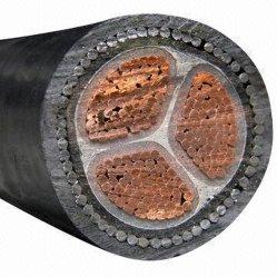 Aislamiento de PVC/XLPE Swa subterráneos blindados de baja tensión del cable de cobre, ISO CCC certificados CE