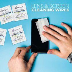 건조하고 젖은 항균 Clean Screen Protector Smart Cleaner Optical TV 휴대폰 컴퓨터용 렌즈 와이프