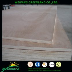 El contrachapado comercial de buena calidad para muebles, decoración, construcción y uso de embalaje