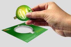 El mejor regalo promocional negocio creativo unidad Flash USB de Tarjeta de Memoria Flash de la tarjeta de crédito con el logotipo de la publicidad