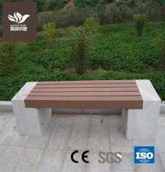 Hot Sale bois composite de banc de jardin en plastique