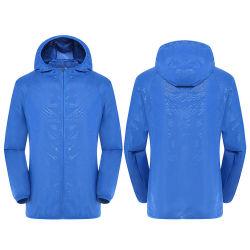 سترة طويلة خفيفة الوزن ذات سترة طويلة من خفة الوزن بلون أزرق رخيص غير رسمي من Unisex وعواش
