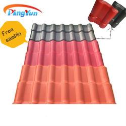 Испанском стиле синтетические смолы ASA ПВХ пластика крыши для сегменте панельного домостроения в дом кровли