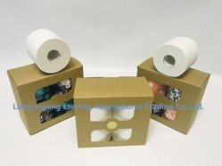 Hygiéniques Factory Direct douce 100% bambou gros rouleau de papier de toilette