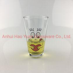 16 Oz claro vidrio de cocina para el agua de beber té de la copa de cristal de vidrio