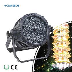 54*3W RGB 3в1 Outdoorip65 этап DMX LED водонепроницаемые PAR лампа