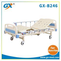 Dos (2) funciones eléctricas ABS Manual cama cama de hospital de atención médica cama