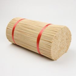 De ronde Stok van de Wierook van Agarbatti van het Bamboe