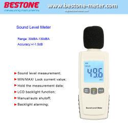 DB цифровой звуковой измеритель уровня шума громкость звука проверки dB децибел извещатель с подсветкой ЖК-быть834