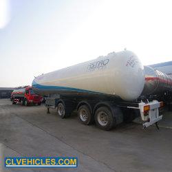 59400L GPL triaxial livraison Propane Storage Tank Truck Transport Gaz de Pétrole Liquéfié semi-remorque semi-remorque