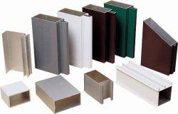 Настраиваемые мебель алюминиевый профиль, порошковое покрытие из алюминия