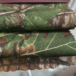 De waterdichte Militaire Stof van de Huid van de Perzik van de Polyester van het Af:drukken van de Camouflage Digitale