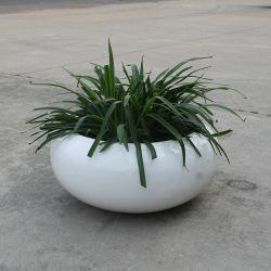 Fo-201 ovale EN FIBRE DE VERRE Pot de Fleur pot de plantes de jardin décoration le semoir