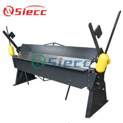 Factory Direct Small machine hand Sheet Metal Folder machine/Iron Blad Handmatige vouwmachine