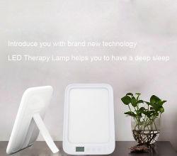 Портативный световой терапии лампа, 10, 000 люкс полный спектр светодиодный индикатор с затемнением, три цветовой температуры и сенсорного управления