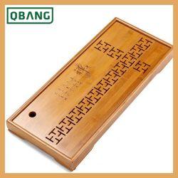 Для приготовления чая и лоток установлен ящик типа слив китайский чай из бамбука лоток цельной древесины хранения деревянной Поднос