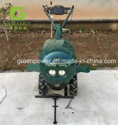 A energia verde Cultivador Rotativo Diesel 9HP D178f Micro-Cultivator Min timão com arranque eléctrico