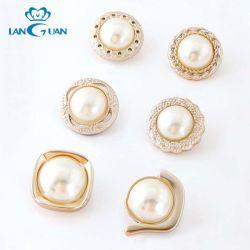 Tasto di cristallo della perla del cappotto dell'indumento del branello dell'ABS