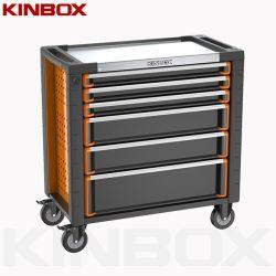 Plan de travail du métal Kinbox Armoire à outils Outil à main du rouleau de poitrine pour réparation de voiture