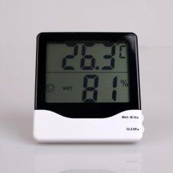 Visor LCD a temperatura e humidade Termômetro