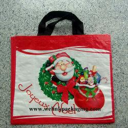 Яркие печатные рождество поощрения PP бумага с покрытием из магазинов сумки