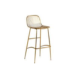 旧式なデザイン党のための優雅なバースツールの強い金属の鉄棒の椅子の腰掛け