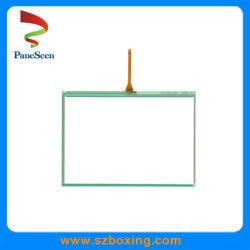 8 pouces de panneau tactile résistif 4 fils avec film++Structure de queue de verre
