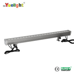 24 LED-Wandwaschleuchte für den Außenbereich, Regal-LED City Colour Light