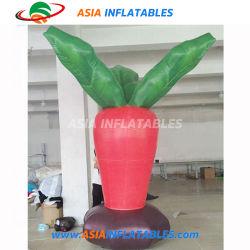Customized insufláveis gigantes infláveis Cenoura Balão de vegetais para decoração de anúncio