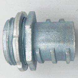 Galvanizado El conducto flexible, el conector con el tornillo