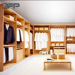Современный стиль цельной древесины с одной спальней и платяной шкаф платяной шкаф