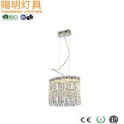 Luxry Colgante de Cristal de montaje de iluminación LED