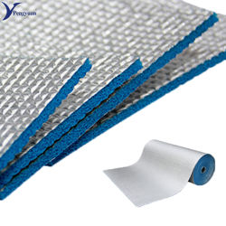 Het anti Schuim van de Aluminiumfolie XPE van de Glans voor De Isolatie van de Spouwmuur