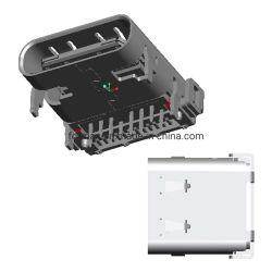 La carga rápida 24pin USB Association of Certified C tipo USB 3.1 Embutición Shell con conector macho de PCB