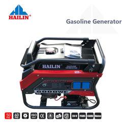 Generatore portatile di plastica caldo della benzina degli S.U.A. 5000W 50Hz piccolo con la ritrazione o l'inizio elettrico