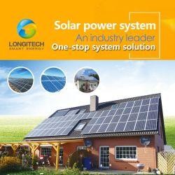 Home를 위한 Longitech Solar Power System 3kw/5kw/7kw/10kw/15kw Solar System