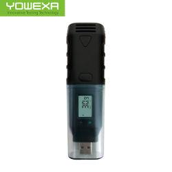 高精度な産業等級USBの温度および湿気データ自動記録器