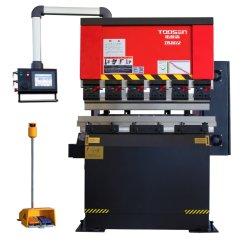 dobradeira CNC de alta velocidade, máquina de dobragem de metal da placa, Máquina de processamento de metal de alumínio com NF9 e amada amada de Fechamento Rápido Tech