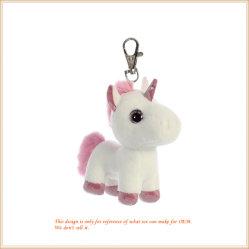Mini-Unicorn Chaveiro Soft Pink Horse dons grossista Key Ring
