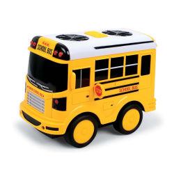 الصين صناعة يسحب تأهيل إلى الخلف عربة لعب سبيكة عربة احتكاك نموذج [أبس] يقولب حافلة لعب لأنّ أطفال هبة