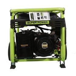 مولد البنزين المتنقل القوي بقدرة 4,5 كيلووات (PG5000BY)، مع ميزة بدء التشغيل من على الارتداد، والمقبض والعجلات، ووكالة حماية البيئة (EPA)، وكارب، CE، شهادات يورو-في