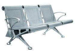 3 sièges en acier inoxydable Président/Long Banc d'attente Président de l'Hôpital d'appareil médical Mobilier utilisé en salle d'attente à l'hôpital
