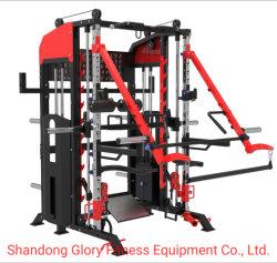 Apparatuur van de Geschiktheid van de Trainer van het Rek van de Macht van de Machine van Smith van de Oversteekplaats van de kabel de Functionele