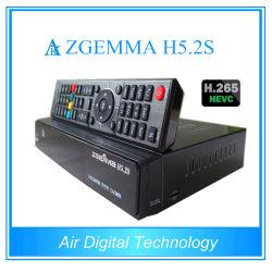Double tuner DVB-S/S2 Linux HD PVR Ready Récepteur Satellite avec Zgemma H5.2s Hevc H. 265