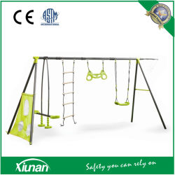 S4s01 Metal Swing Set per Kids