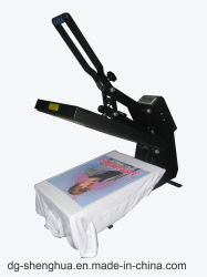 38X38 40X50 40X60 Plättchen heraus Shirt-Automobil-geöffnete Wärme-Presse
