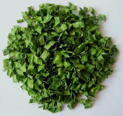 Anelli secchi/disidratati della erba cipollina