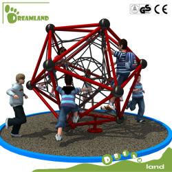 Les enfants de l'escalade de la jungle de plein air en plastique de la salle de gym de l'équipement de terrain de jeu